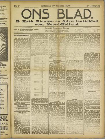 Ons Blad : katholiek nieuwsblad voor N-H 1909-01-30