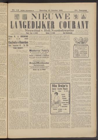 Nieuwe Langedijker Courant 1928-10-20