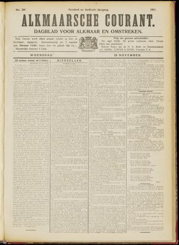 Alkmaarsche Courant 1911-11-29
