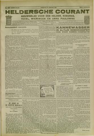 Heldersche Courant 1931-01-27