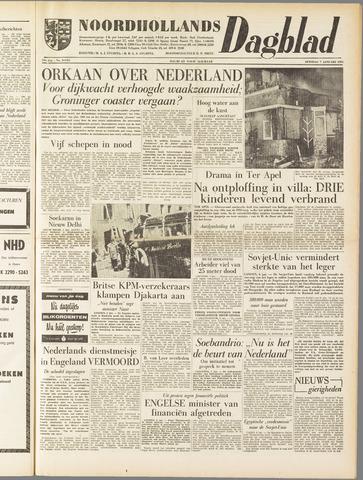 Noordhollands Dagblad : dagblad voor Alkmaar en omgeving 1958-01-07