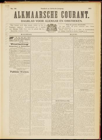 Alkmaarsche Courant 1911-06-26