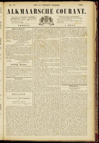 Alkmaarsche Courant 1881-07-01