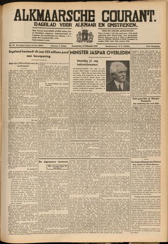 Alkmaarsche Courant 1939-02-16