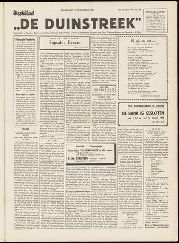 De Duinstreek 1953-12-21