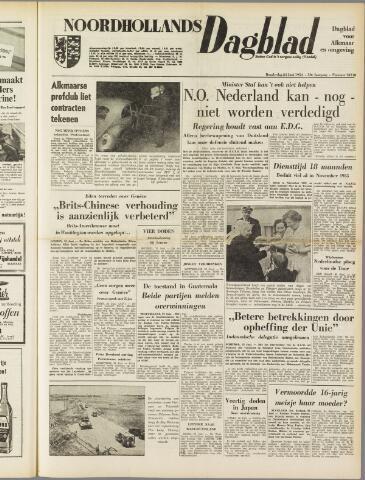 Noordhollands Dagblad : dagblad voor Alkmaar en omgeving 1954-06-24