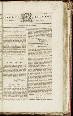 Alkmaarsche Courant 1824-08-09