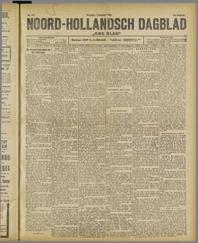 Ons Blad : katholiek nieuwsblad voor N-H 1922-12-11