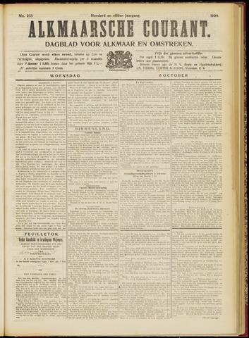 Alkmaarsche Courant 1909-10-06