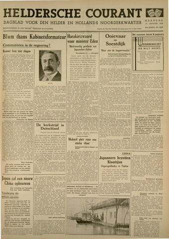Heldersche Courant 1938-01-17