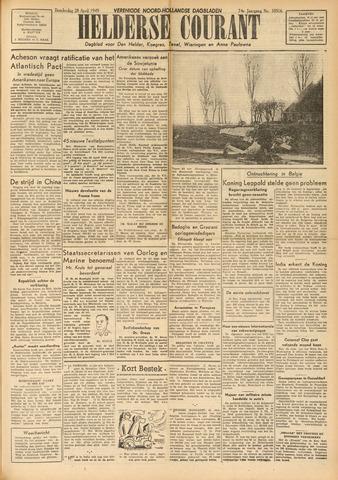 Heldersche Courant 1949-04-28