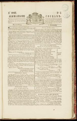 Alkmaarsche Courant 1847-02-01