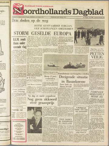 Noordhollands Dagblad : dagblad voor Alkmaar en omgeving 1964-12-14
