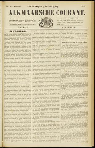 Alkmaarsche Courant 1894-11-04