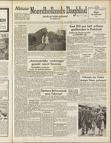 Nieuw Noordhollandsch Dagblad : voor Alkmaar en omgeving 1951-07-26
