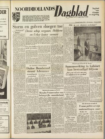 Noordhollands Dagblad : dagblad voor Alkmaar en omgeving 1954-10-08