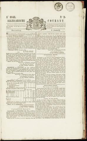 Alkmaarsche Courant 1843-01-09