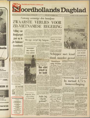 Noordhollands Dagblad : dagblad voor Alkmaar en omgeving 1965-11-29