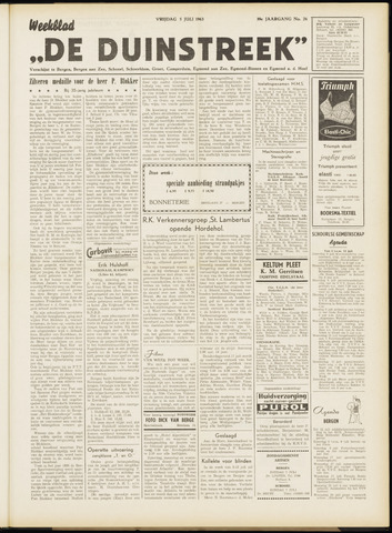 De Duinstreek 1963-07-05