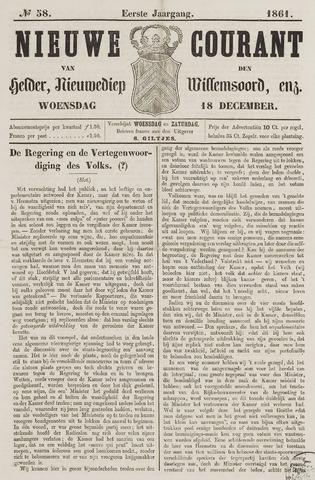 Nieuwe Courant van Den Helder 1861-12-18