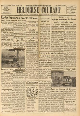 Heldersche Courant 1950-08-14