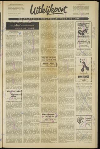 Uitkijkpost : nieuwsblad voor Heiloo e.o. 1962-02-01