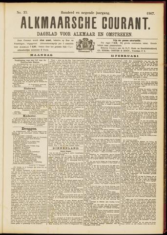 Alkmaarsche Courant 1907-02-11