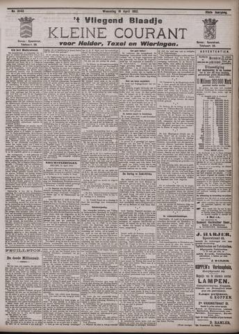 Vliegend blaadje : nieuws- en advertentiebode voor Den Helder 1902-04-16