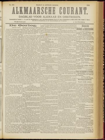 Alkmaarsche Courant 1916-10-04