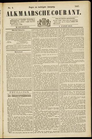 Alkmaarsche Courant 1887-01-05