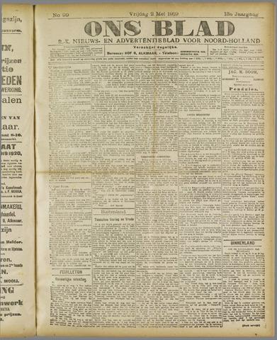 Ons Blad : katholiek nieuwsblad voor N-H 1919-05-02