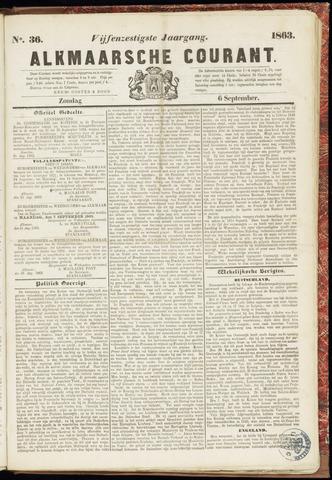 Alkmaarsche Courant 1863-09-06