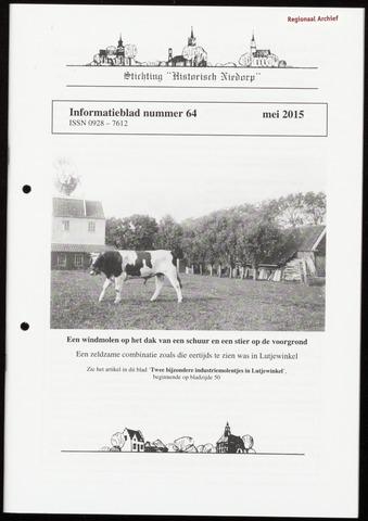 Informatieblad stichting Historisch Niedorp 2015-05-01