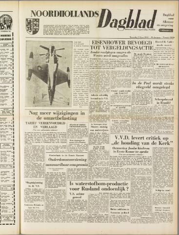 Noordhollands Dagblad : dagblad voor Alkmaar en omgeving 1954-03-17