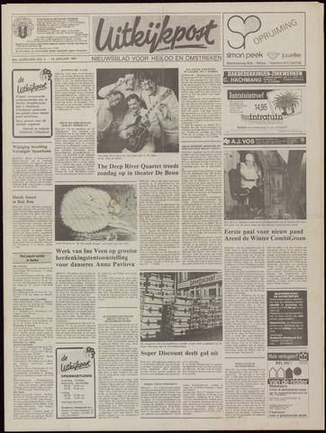 Uitkijkpost : nieuwsblad voor Heiloo e.o. 1991-01-16