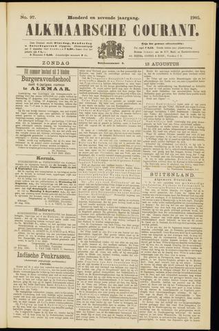 Alkmaarsche Courant 1905-08-13