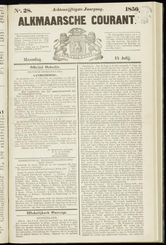 Alkmaarsche Courant 1856-07-14