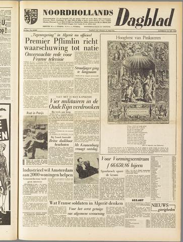 Noordhollands Dagblad : dagblad voor Alkmaar en omgeving 1958-05-24