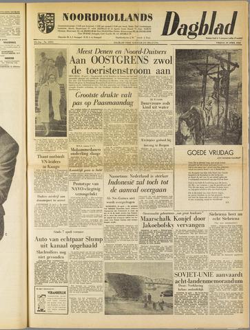Noordhollands Dagblad : dagblad voor Alkmaar en omgeving 1962-04-20