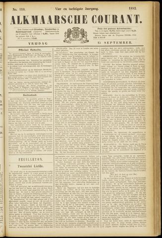 Alkmaarsche Courant 1882-09-15