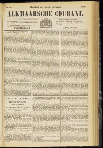 Alkmaarsche Courant 1900-08-01