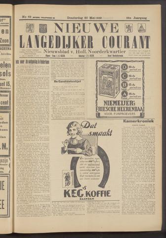 Nieuwe Langedijker Courant 1929-05-30