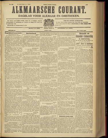 Alkmaarsche Courant 1928-01-24