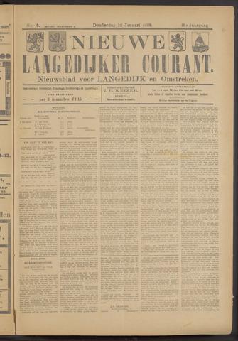Nieuwe Langedijker Courant 1922-01-12