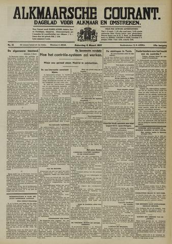 Alkmaarsche Courant 1937-03-06