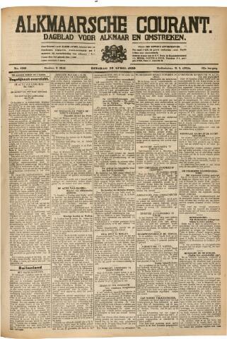 Alkmaarsche Courant 1930-04-29