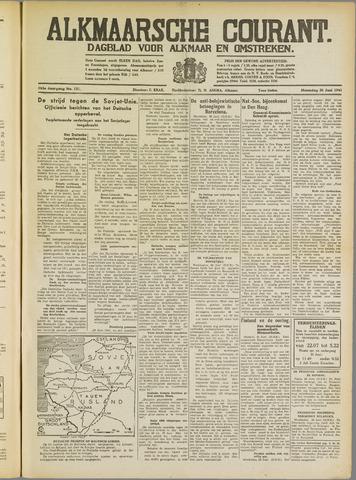 Alkmaarsche Courant 1941-06-30