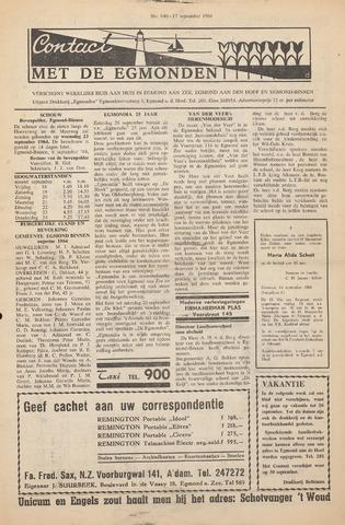Contact met de Egmonden 1964-09-17