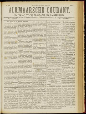 Alkmaarsche Courant 1918-09-25