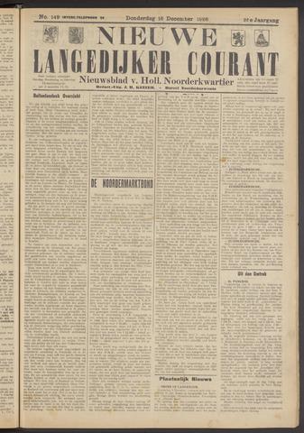 Nieuwe Langedijker Courant 1926-12-16